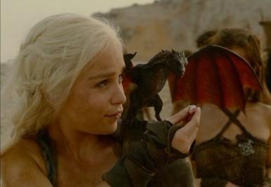 khaleesi-drogon